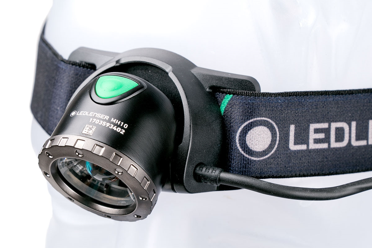 Led Lenser Frontale Rechargeable Lampe Mh10 YHW2IDE9