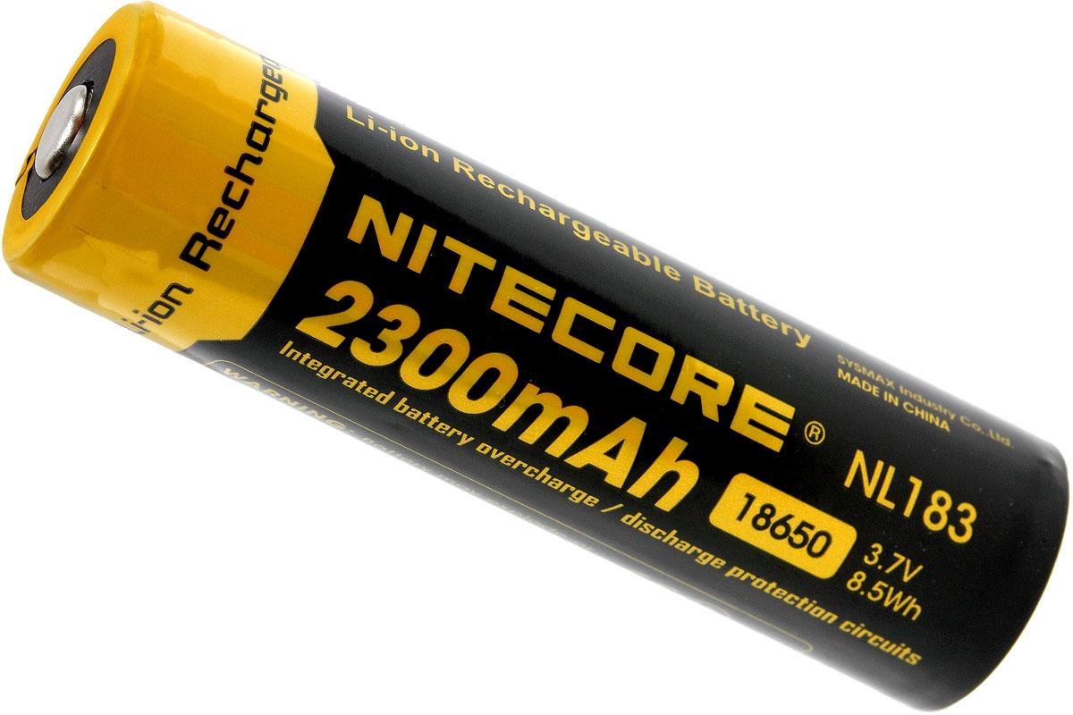 Nitecore 18650 Battery 2300 Mah Button Top Advantageously Protection Circuit Shopping At