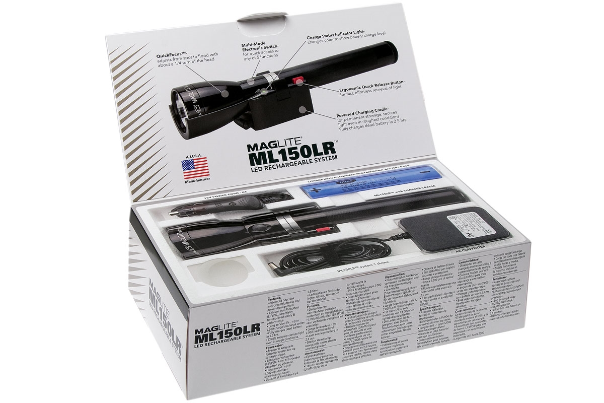 Maglite ML150LR Rechargeable LED Torch