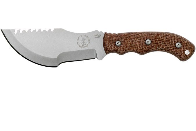 TOPS Knives Tom Brown Tracker #3 20th Anniversary survival knife S35VN,  TBT-032