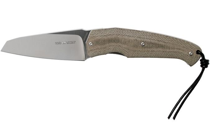 viper novis green canvas micarta 5972cv couteau de poche  silvestrelli design
