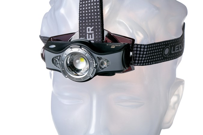 led lenser head torch charger