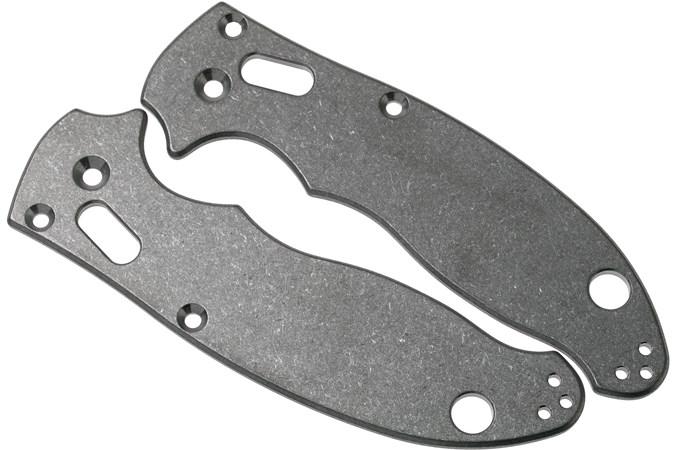 Flytanium Spyderco Manix 2 Scales, titanium