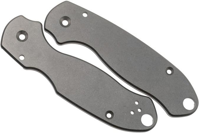 Flytanium Spyderco Para 3 Scales, titanium