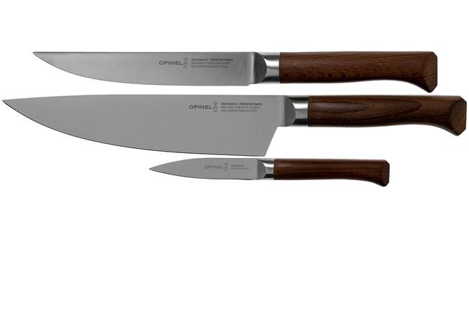 Opinel Les Forges 1890 Set De Trois Couteaux 002292 Achetez A