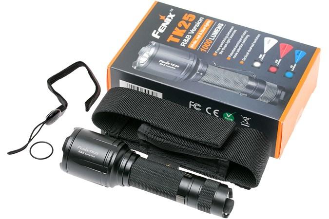 Pour Fenix Chasse Stromboscope Et Lampe Avec BlancRougeBleu Lumière Instantanée Tk25rb La O8Nv0wmn