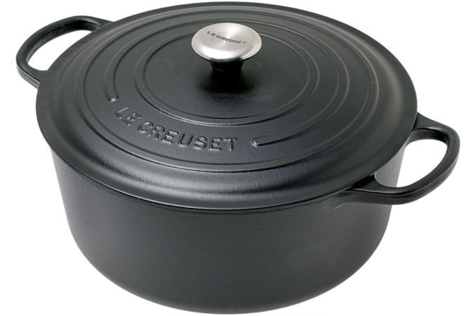 Le Creuset Cast Iron Cerole Dish 30 Cm 8 1l Matt Black