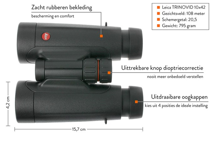 Leica trinovid 10x42 40 009 günstiger shoppen bei knivesandtools.at