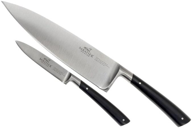 Lion Sabatier Edonist knife set 2-pcs, black, 808180