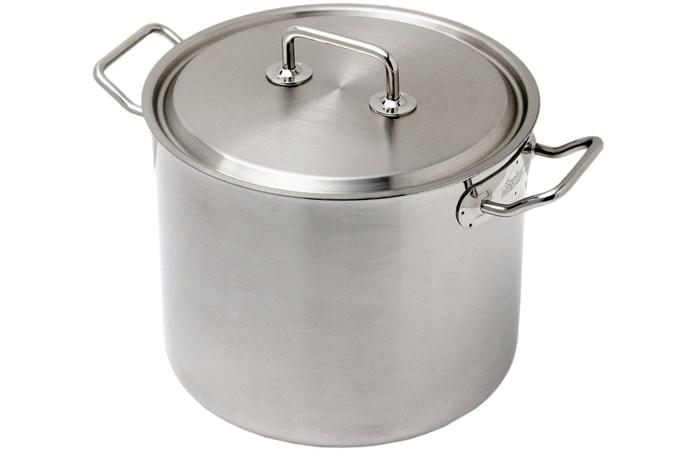 25 Liter Soeppan.Spring Brigade Premium Kookpan Met Deksel 24 Cm 9 0l