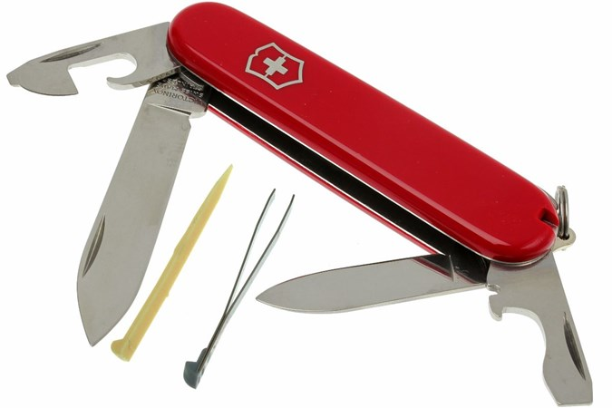 Victorinox Recruit Red Advantageously Shopping At