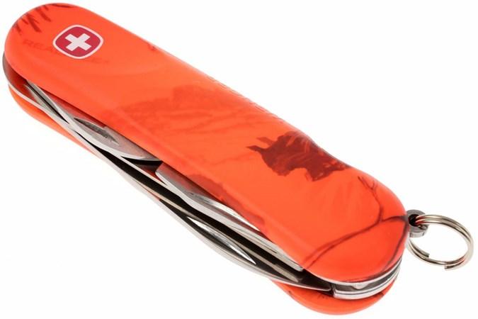 Wenger Ap Blaze 13 Orange Swiss Army Knife