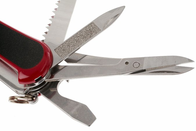 Wenger Evogrip S 17 Red Black Swiss Army Knife