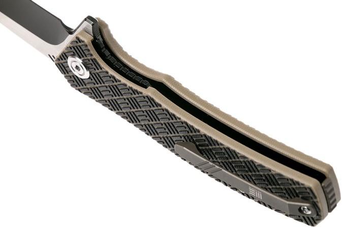 we knife 711d blitz taschenmesser tan black g10 g nstiger shoppen bei. Black Bedroom Furniture Sets. Home Design Ideas