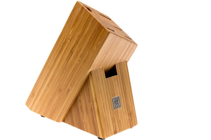 zwilling solider messerblock aus bambus f r 6 teile g nstiger shoppen bei. Black Bedroom Furniture Sets. Home Design Ideas