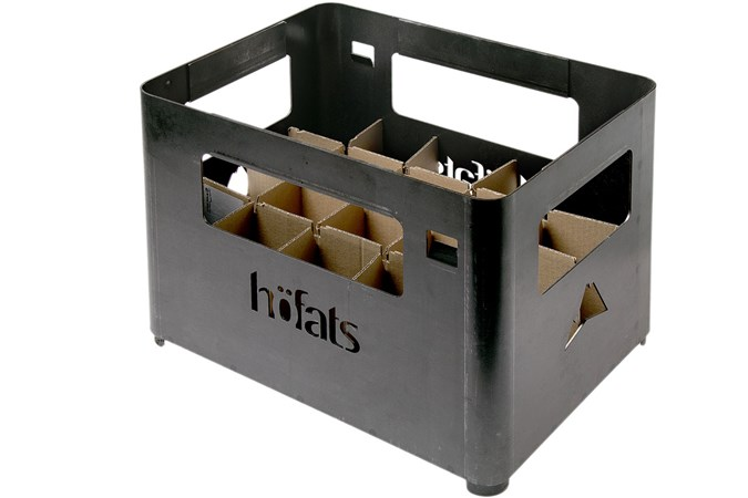 Höfats Beer Box Steel Fire Basket Advantageously Shopping At