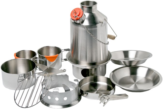 Kelly Kettle stainless steel Ultimate Base Camp kit