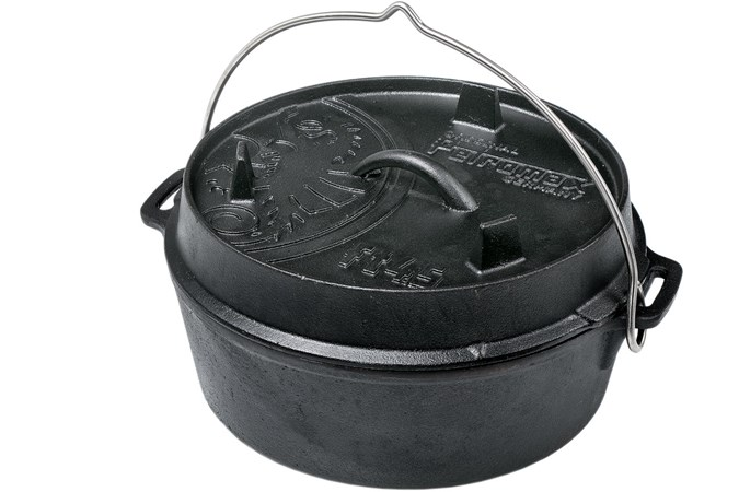 Petromax Dutch Oven ft4,5 platte bodem, FT4-5-T