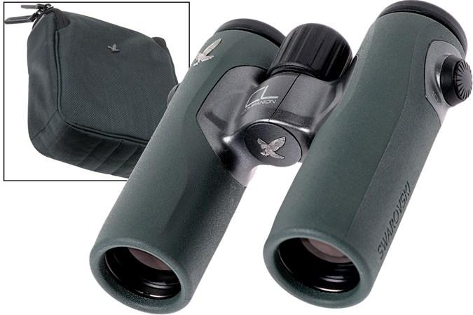 Swarovski cl companion 10x30 fernglas grün wild nature paket