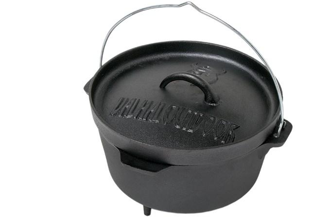 valhal outdoor dutch oven 3 litre with feet. Black Bedroom Furniture Sets. Home Design Ideas