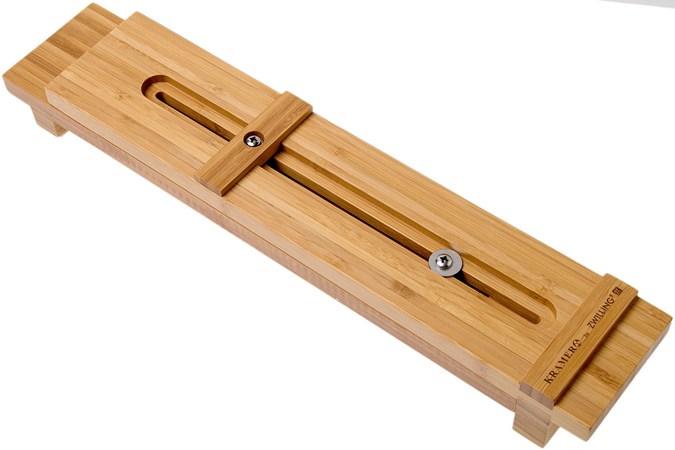 Kramer By Zwilling Sink Bridge Bamboo 34999 201 Wet Stone