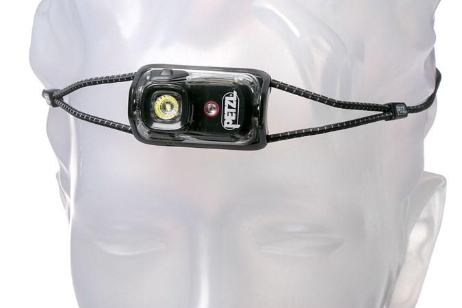 Kopflampen Sport Petzl Bindi 200 Lumen Schwarz Wiederaufladbar Scheinwerfer