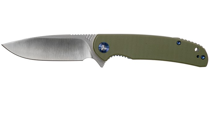 we knife practic 809a pocket knife green g10 advantageously