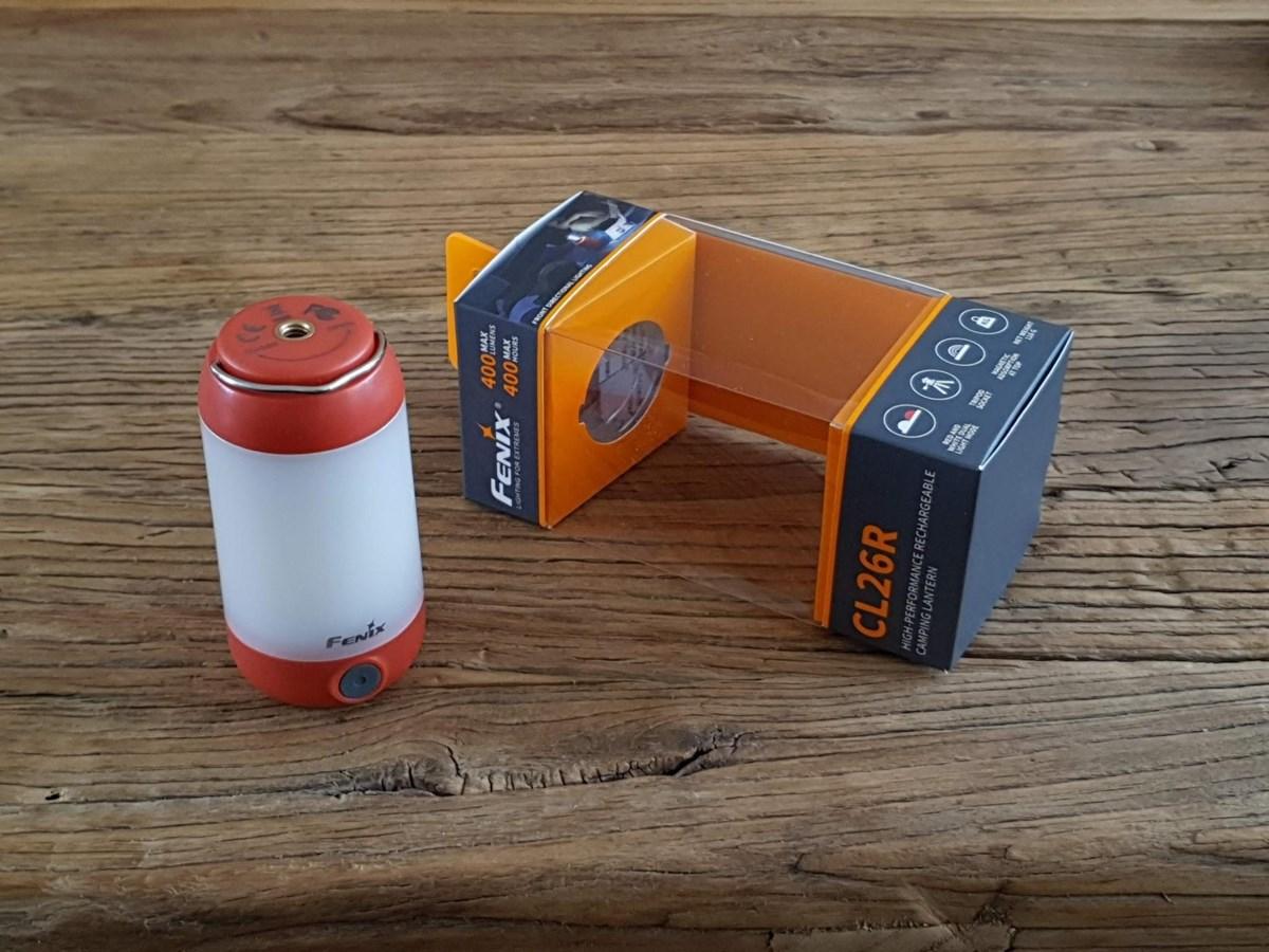 Fenix CL26R Campinglampe im Test bei Knivesandtools